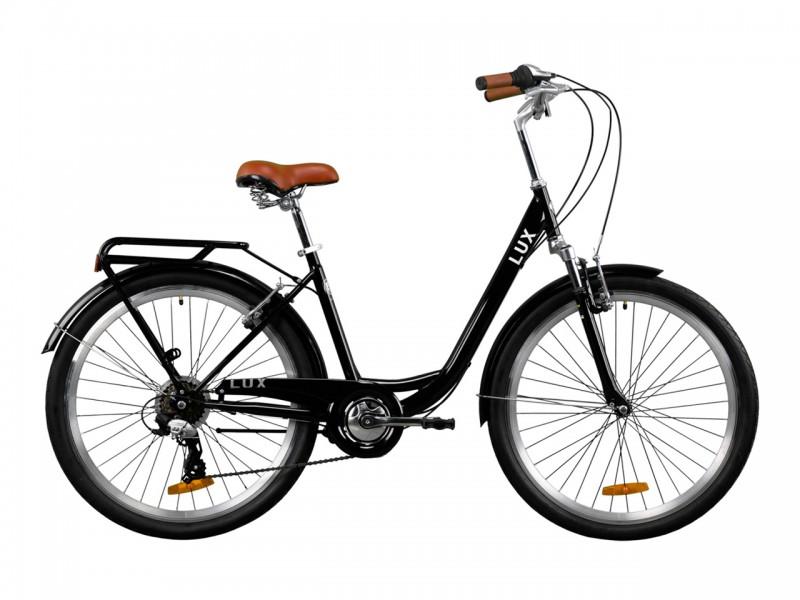 "Велосипед Dorozhnik LUX AM Vbr ST 26"" (рама 17, антрацитовий)"