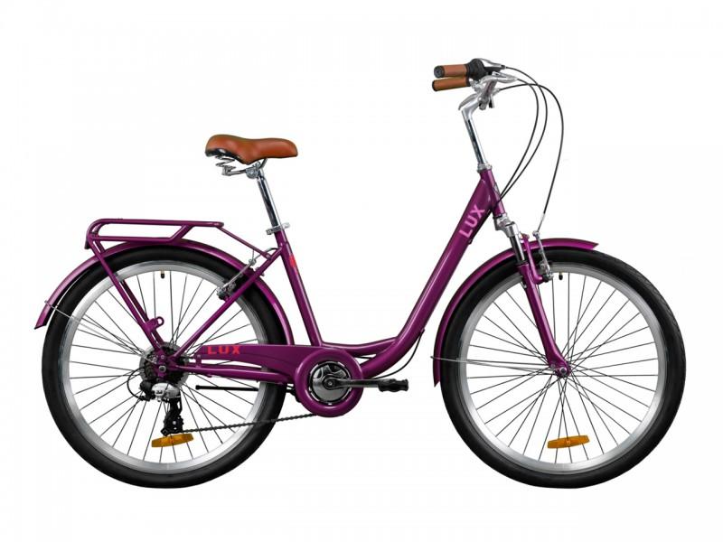 """Велосипед Dorozhnik LUX AM Vbr ST 26"""" (рама 17, сливовий)"""