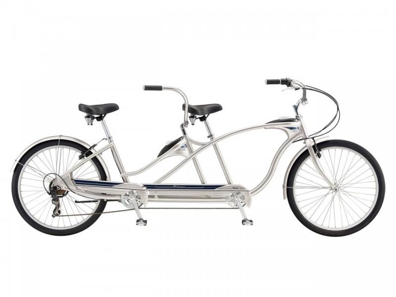 """Велосипед Schwinn Tango Tandem (рама 15"""", срібло, б/в)"""