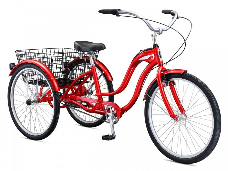 """Велосипед Schwinn Town & Country (рама 17"""", червоний, б/в)"""