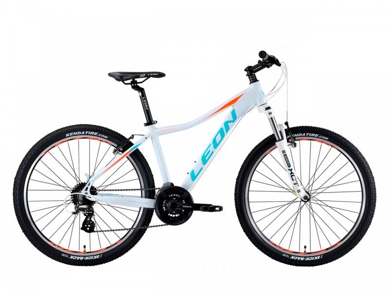 """Велосипед Leon HT-Lady AM 26"""" (рама 18"""", білий/блакитний, б/в)"""
