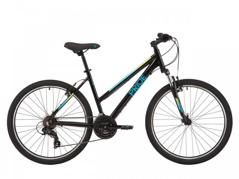 """Велосипед Pride STELLA 6.1 26"""" (рама XS, чорний, 2021)"""