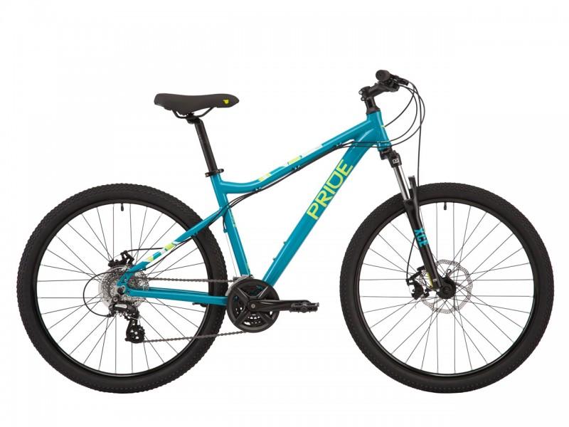 """Велосипед Pride STELLA 7.2 27,5"""" (рама M, бірюзовий, 2021)"""