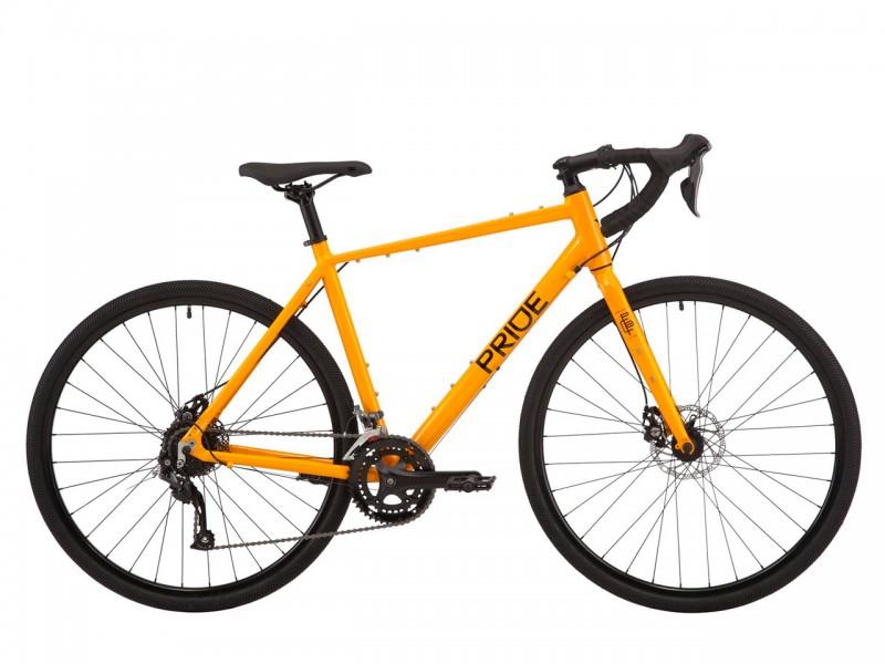 """Велосипед Pride ROCX 8.1 28"""" (рама L, помаранчевий, 2021)"""