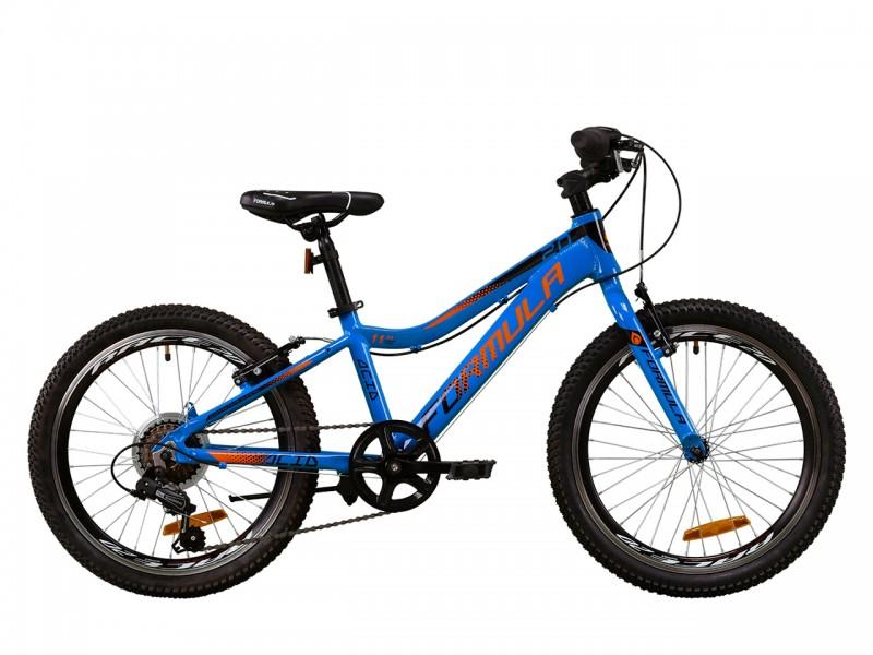 """Велосипед Formula ACID 1.0 Vbr AL 20"""" (рама 11"""", синій/чорний/помаранчевий, б/в)"""