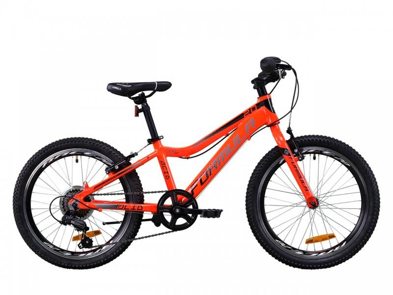 "Велосипед Formula ACID 1.0 Vbr AL 20"" (рама 11"", червоний/чорний, б/в)"