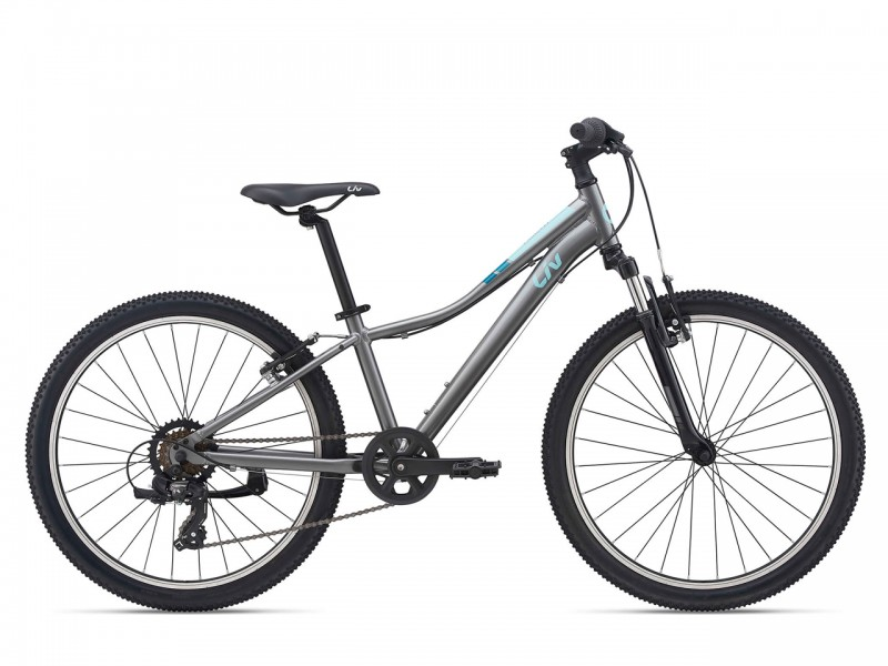 "Велосипед Giant Liv Enchant 24"" темне срібло 2021"