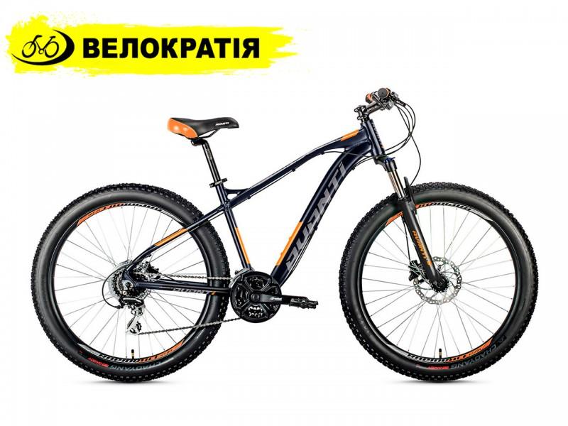 """Велосипед Avanti boost 650 B+ 27.5"""" (рама 17, черно-оранжевый)"""