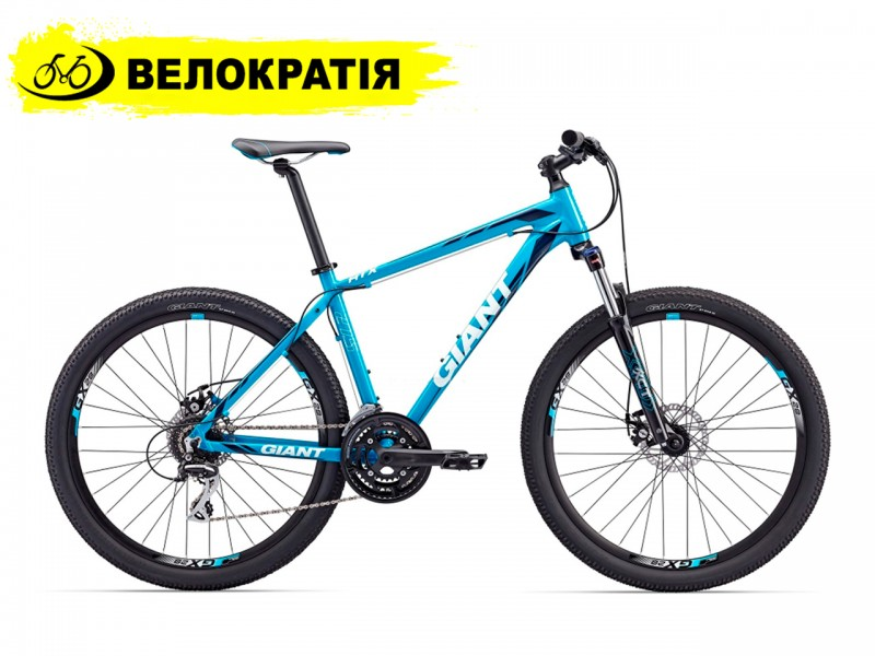 """Велосипед Giant ATX 1 27.5"""" (рама 21, cиний)"""