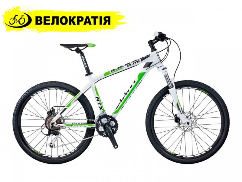 """Велосипед Giant ATX Elite 1 26"""" (рама L, бело-зёлёный)"""
