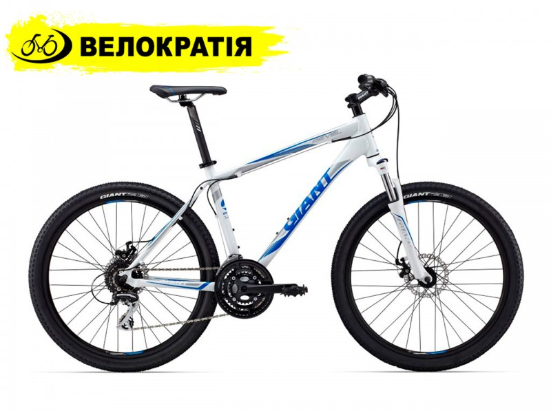 """Велосипед Giant Revel 1 26"""" (рама 21"""", белый, б/у)"""