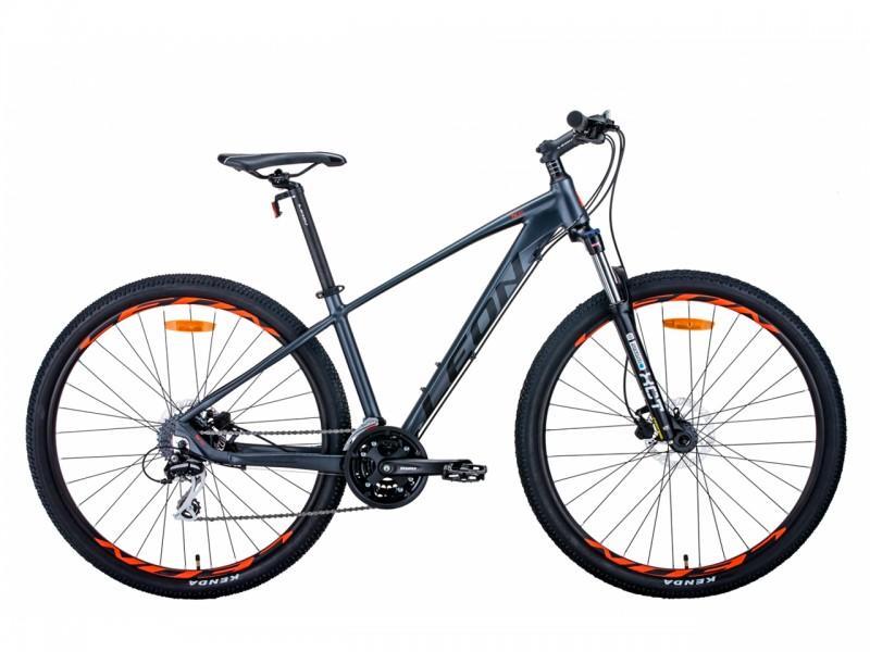 """Велосипед Leon TN-80 AL 29"""" AM Hydraulic lock out HDD (рама 21"""", графіт, 2021, б/в)"""