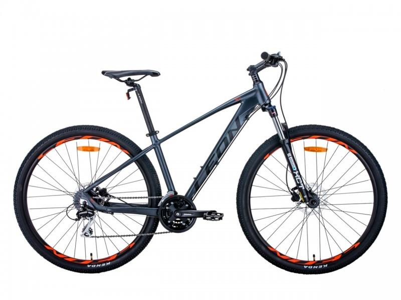 """Велосипед Leon TN-80 29"""" (рама 19"""", графітовий/чорний, б/в)"""