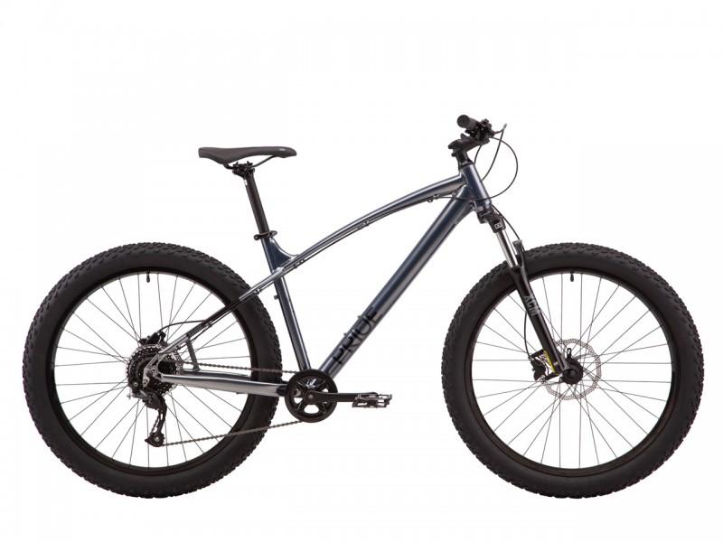 """Велосипед Pride SAVAGE 7.1 27,5"""" (рама L, 2021, сірий)"""