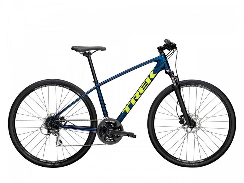 """Велосипед Trek Dual Sport 2 SL 28"""" (рама M, синій, 2021)"""