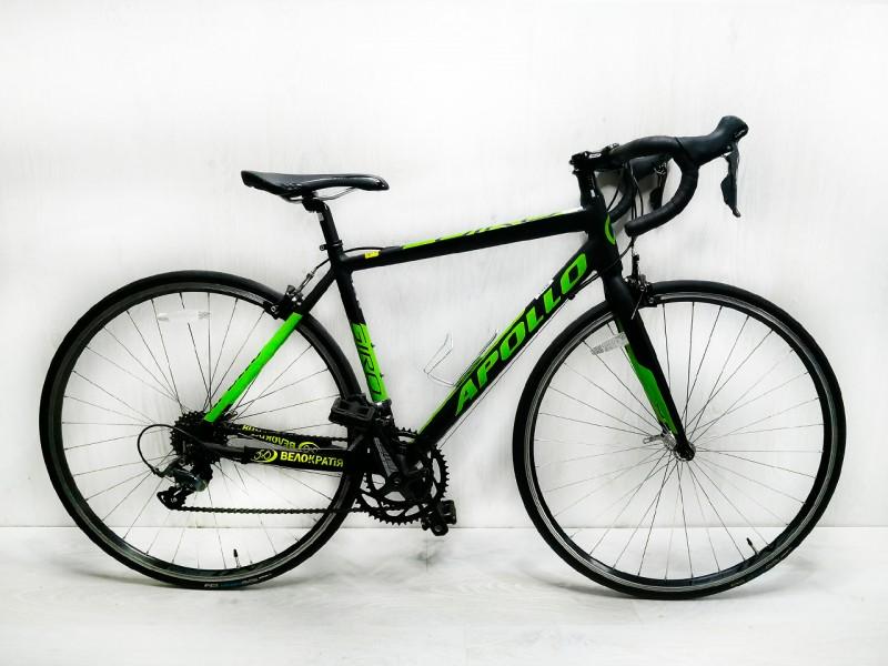 """Велосипед Apollo Giro 10 28"""" (рама 15"""", чорний/салатовий, б/в)"""