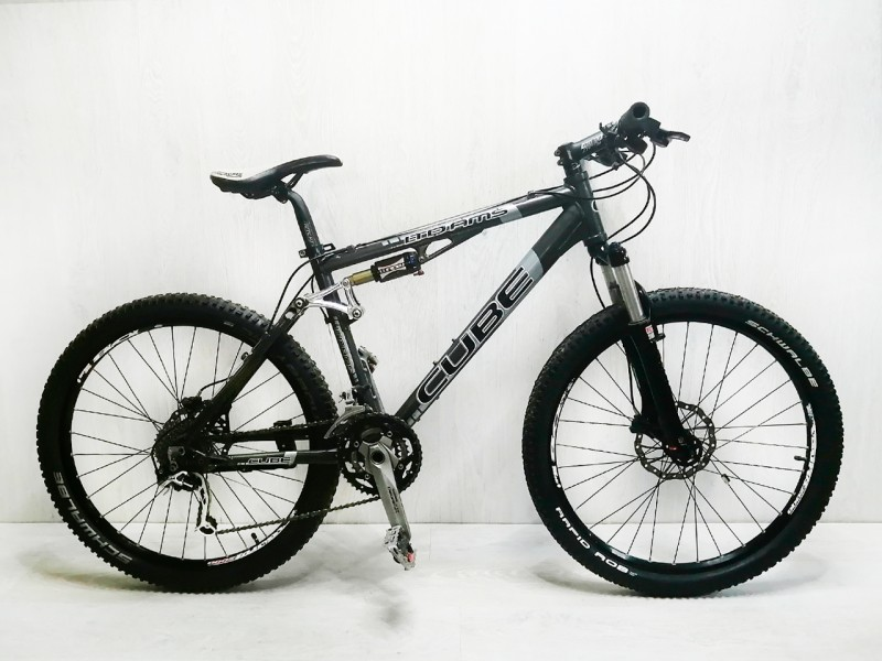 """Велосипед Cube Race Line LTD AMS 26"""" XT (рама М, чорний, б/в)"""