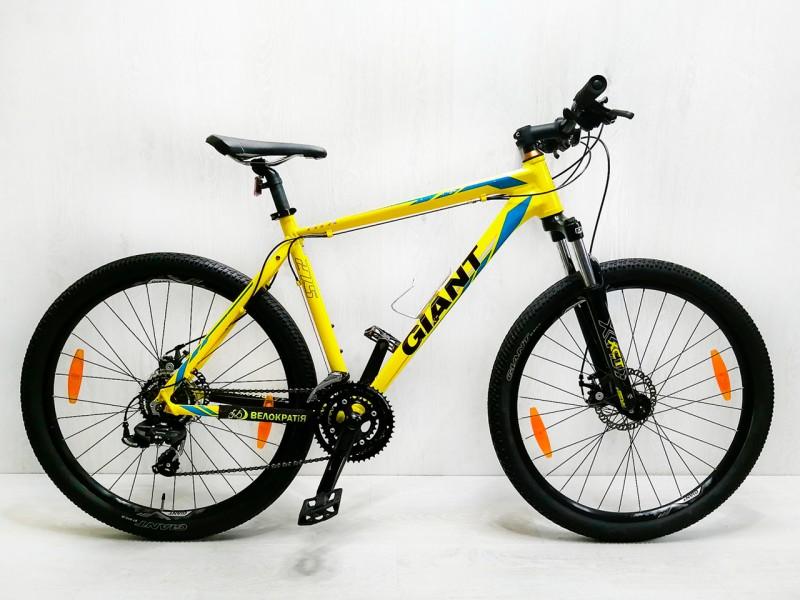 "Велосипед Giant ATX 2 27.5"" (рама 17"", жовтий, б/в)"