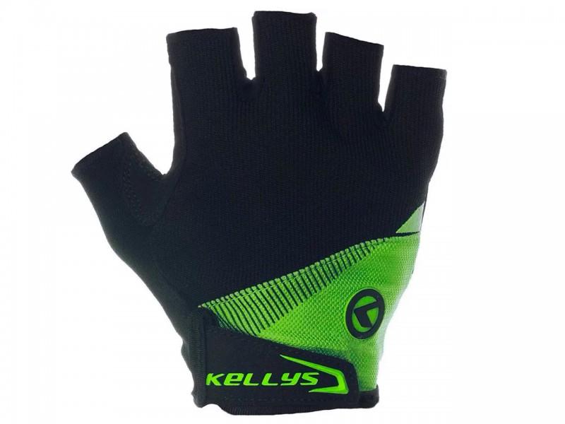 Велоперчатки без пальців Kellys Comfort (лайм, М)