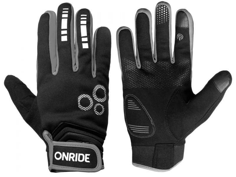 Велоперчатки Onride Pleasure 20 (сірий, XL)