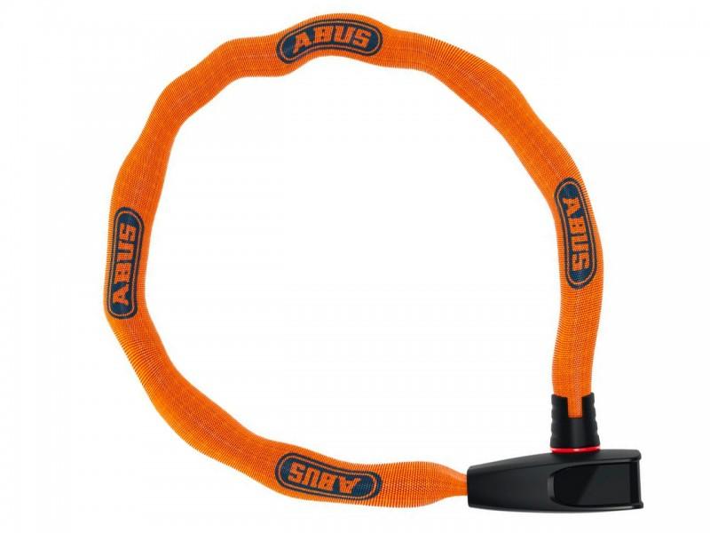 Велозамок з ланцюгом ABUS 6806K/75 Catena Neon Orange