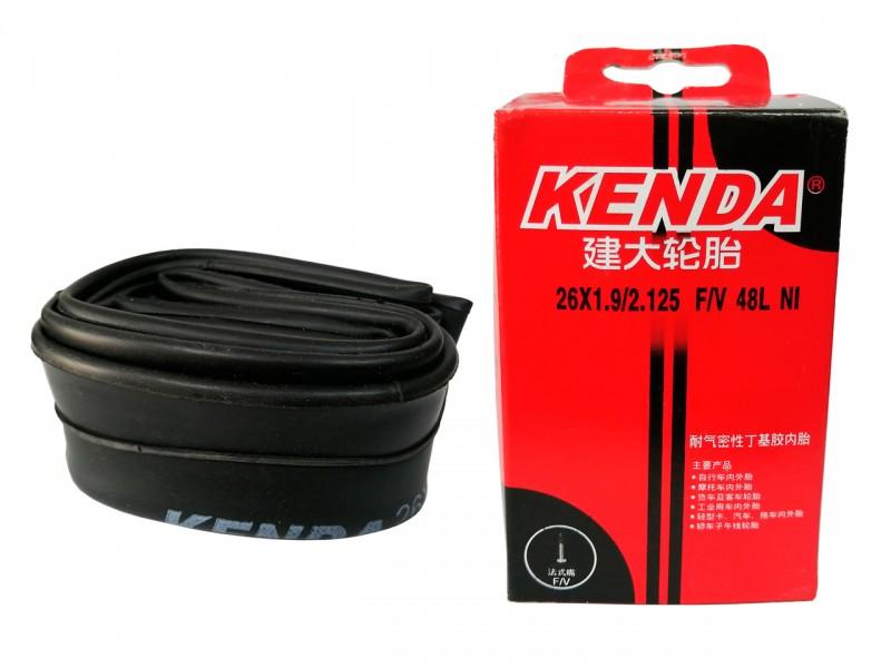 """Камера для велосипеда 26""""x1.90/2.125"""" Kenda (FV)"""