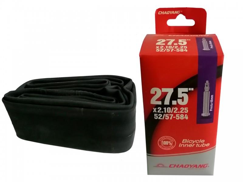 "Камера для велосипеда 27.5""x2.1/2.25"" ChaoYang (FV)"