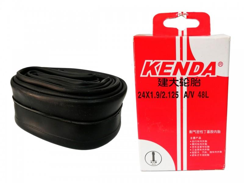 "Камера для велосипеда 24""х1.90/2.125"" Kenda (AV, штуцер 48мм)"